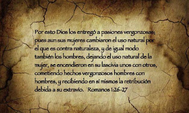 Romanos 1:26,27 Bajo Ataque